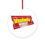 BroadwayWorld 2017 Logo Round Ornament