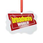 BroadwayWorld 2017 Logo Ornament
