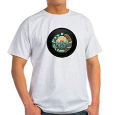 Coat of Arms of Uzbekistan T-Shirt