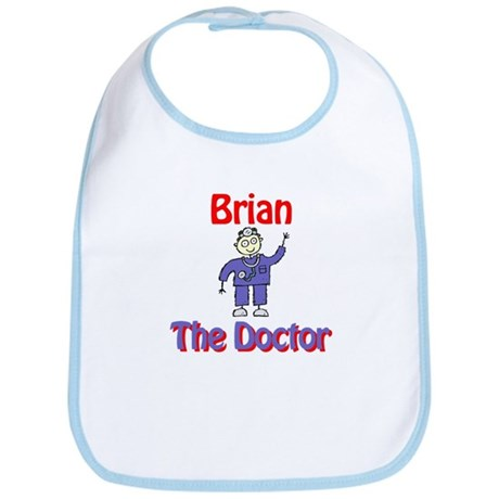 Brian - The Doctor Bib
