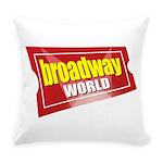 BroadwayWorld 2017 Logo Everyday Pillow