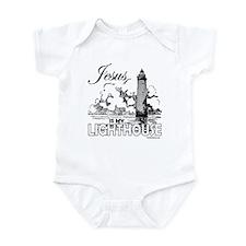 JESUS IS MY LIGHTHOUSE Infant Bodysuit