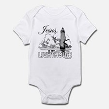 JESUS IS MY LIGHTHOUSE Infant Bodysuit