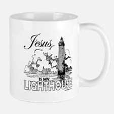 JESUS IS MY LIGHTHOUSE Mug