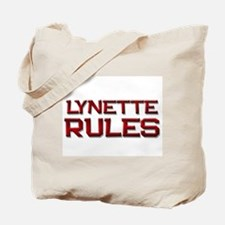 lynette rules Tote Bag