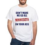 Minnesota Baseball White T-Shirt