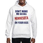 Minnesota Baseball Hooded Sweatshirt