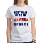 Minnesota Baseball Women's T-Shirt