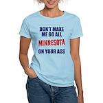 Minnesota Baseball Women's Light T-Shirt