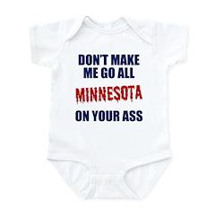 Minnesota Baseball Infant Bodysuit