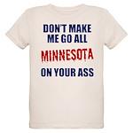 Minnesota Baseball Organic Kids T-Shirt