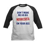 Minnesota Baseball Kids Baseball Jersey