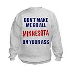 Minnesota Baseball Kids Sweatshirt