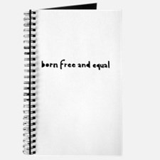Born Free and Equal Journal