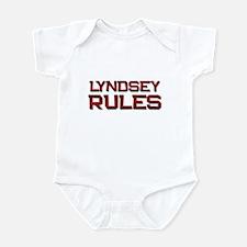 lyndsey rules Infant Bodysuit