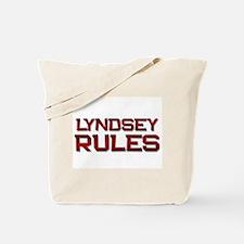 lyndsey rules Tote Bag