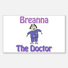 Breanna - The Doctor Rectangle Decal