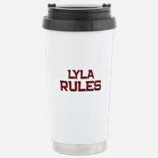 lyla rules Stainless Steel Travel Mug