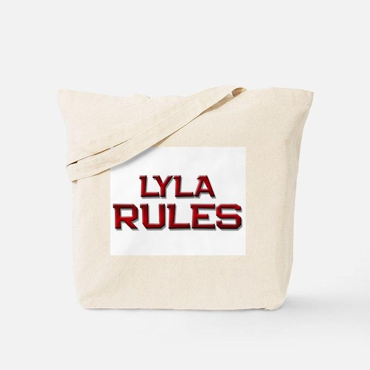 lyla rules Tote Bag