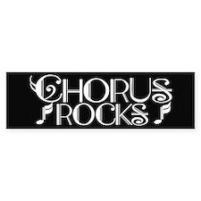 Chorus Rocks Bumper Car Sticker