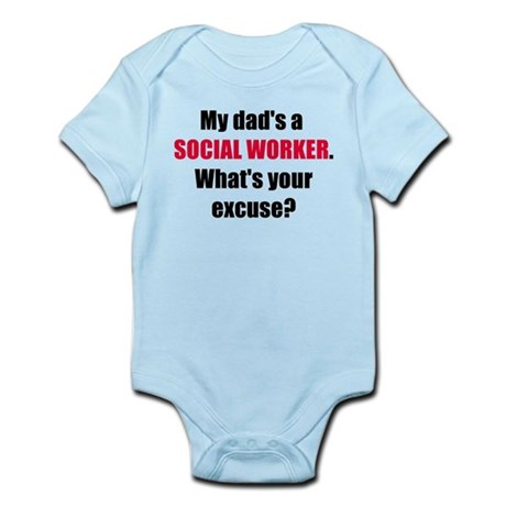 Dad SW Excuse Infant Bodysuit