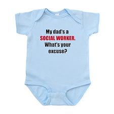Dad SW Excuse Infant Bodysuit