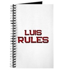 luis rules Journal
