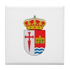 Cool Cross and crown Tile Coaster