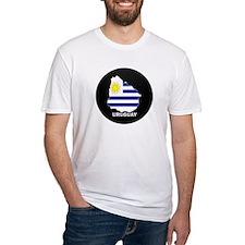 Flag Map of Uruguay Shirt