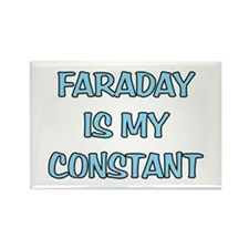 Faraday is my Constant Rectangle Magnet