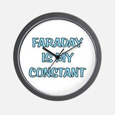 Faraday is my Constant Wall Clock