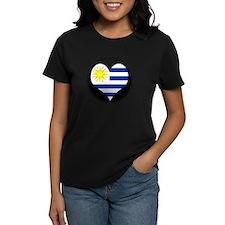 I love Uruguay Flag Tee