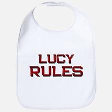 lucy rules Bib