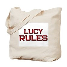 lucy rules Tote Bag