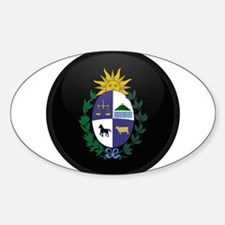 Coat of Arms of Uruguay Oval Decal