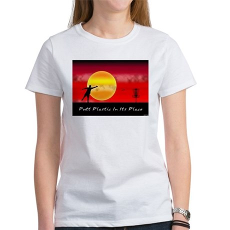 Putt Plastic In Its Place Women's T-Shirt