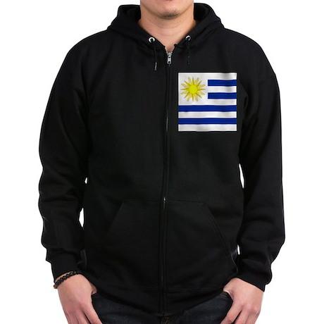 Uruguayan Zip Hoodie (dark)
