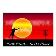 Putt Plastic In Its Place Postcards (Package of 8)