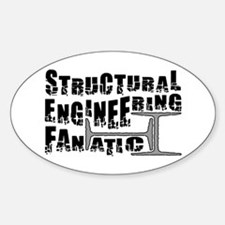Structural Fanatic Oval Decal