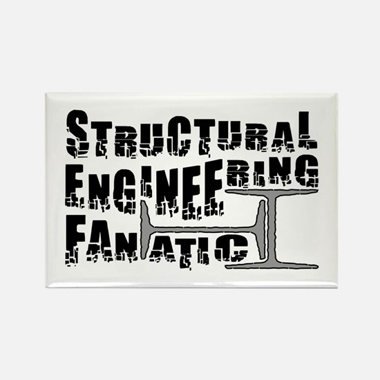 Structural Fanatic Rectangle Magnet