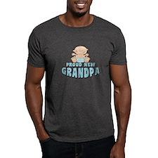 New Grandpa Baby Boy T-Shirt