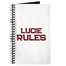 lucie rules Journal