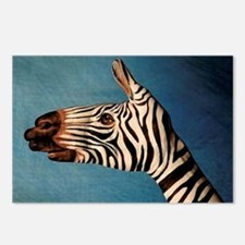 Hand Zebra Postcards (Package of 8)