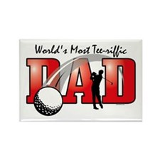 Tee-riffic Dad Rectangle Magnet