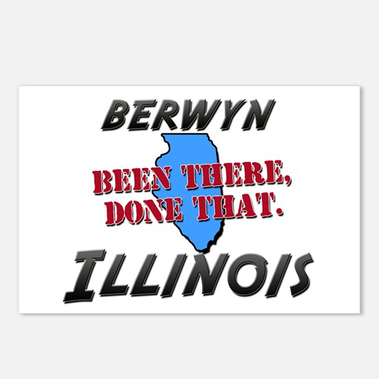 berwyn illinois - been there, done that Postcards