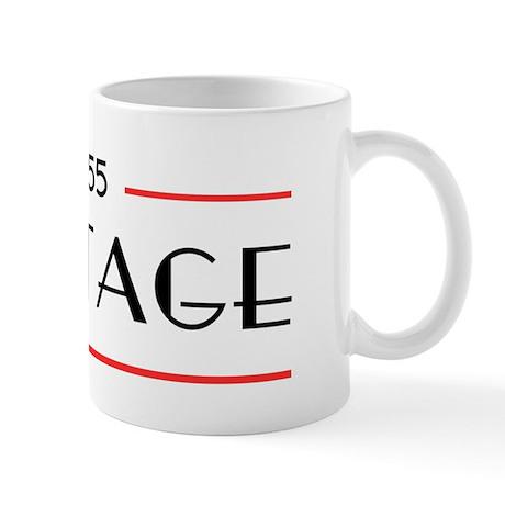 55th Birthday Vintage Mug
