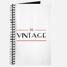 55th Birthday Vintage Journal