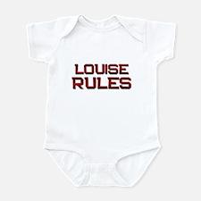 louise rules Infant Bodysuit