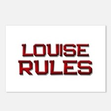 louise rules Postcards (Package of 8)
