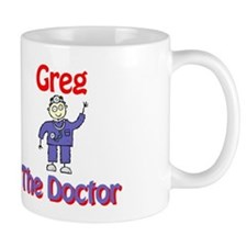 Greg - The Doctor Mug